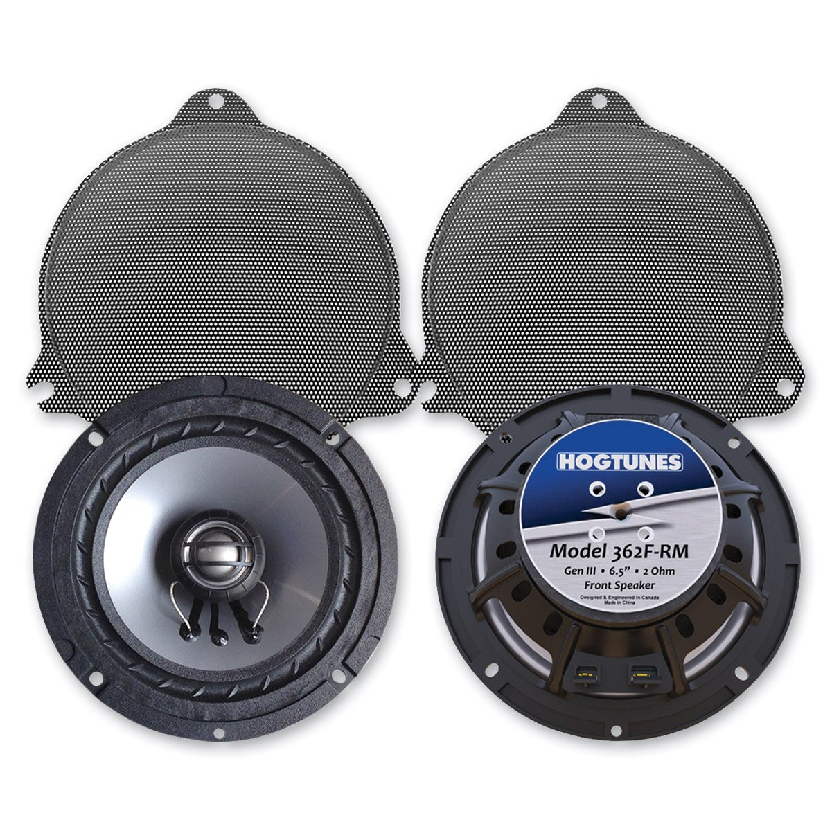 5. Hogtunes 362F-RM Front Speaker (Replacement Gen 3 6.5