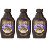 Heath Shell Topping, 7-Ounce Bottle (Pack of 3)