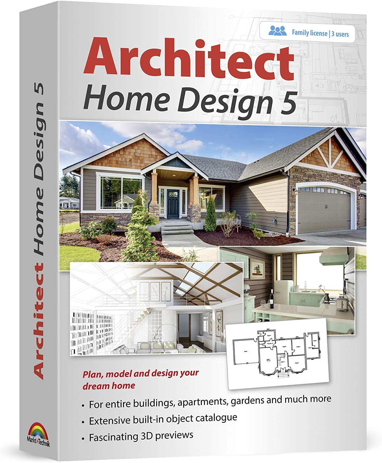 Architect Home Design 5 - Plan, model and design your dream home and landscape for Windows 10, 8.1, 7 81Kd93UbT7L