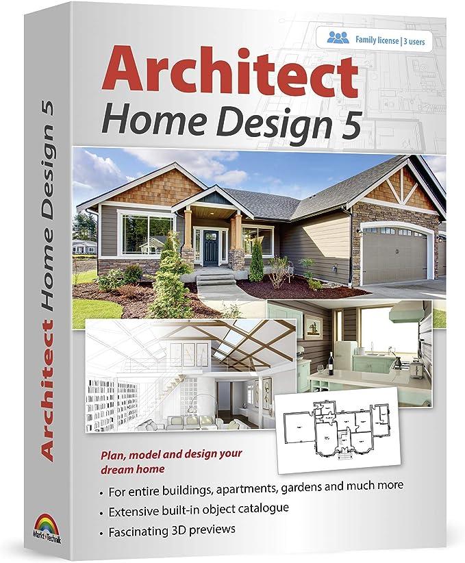 Amazon Com Architect Home Design 5 Plan Model And Design Your Dream Home And Landscape