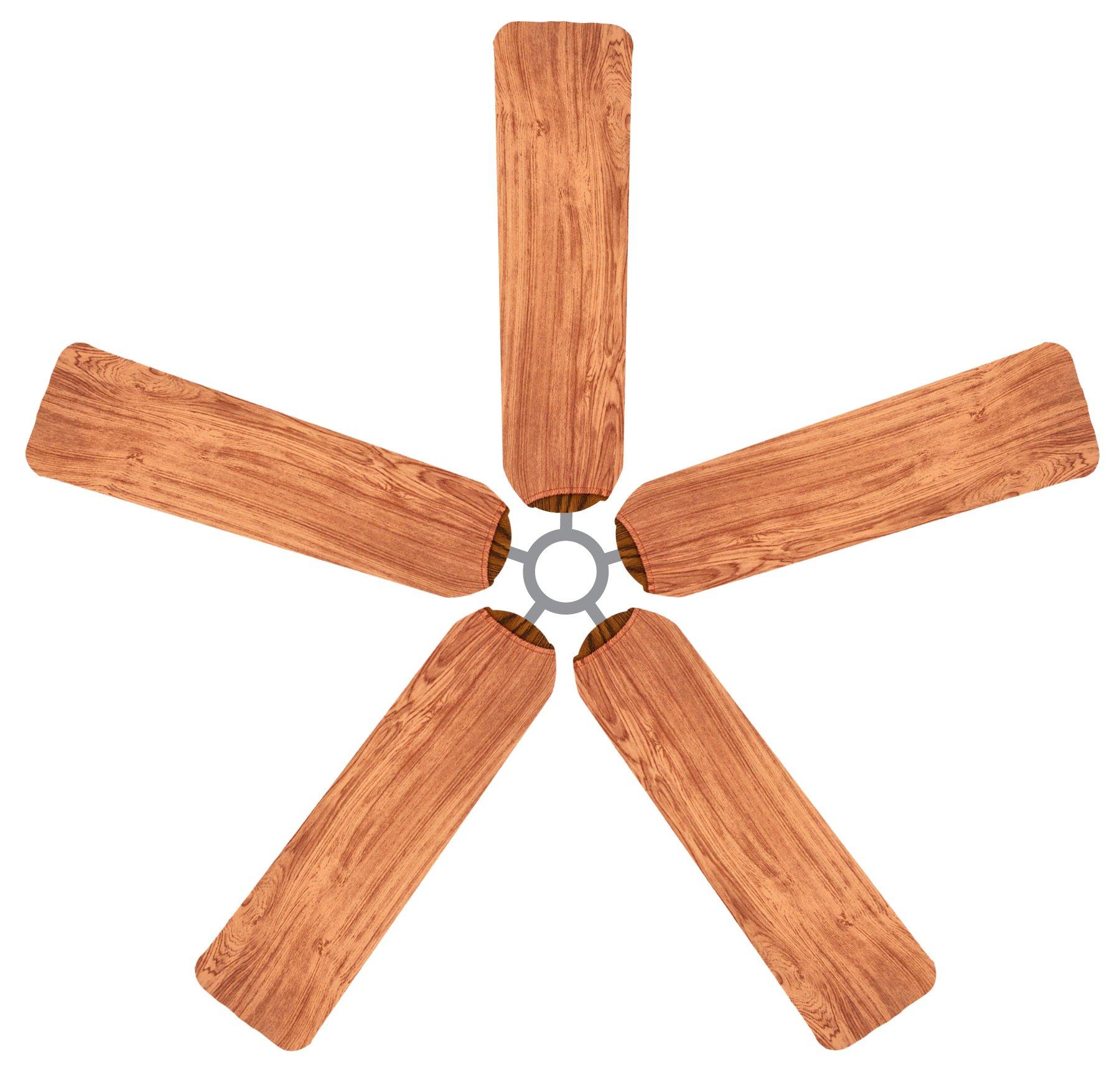 Fan Blade Designs Redwood Ceiling Fan Blade Covers