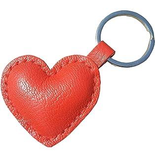 Amazon.com: Wtlzs Llavero hecho a mano con forma de corazón ...