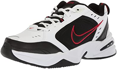 2a783c0a51bba7 Nike Air Monarch IV Mens White X Wide Leather Sneakers Shoes Size UK ...