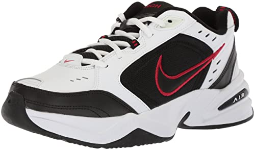 Nike Air Monarch IV Mens White X Wide Leather Sneakers Shoes Size UK 9.5   Amazon.co.uk  Shoes   Bags 88325c51d8bc