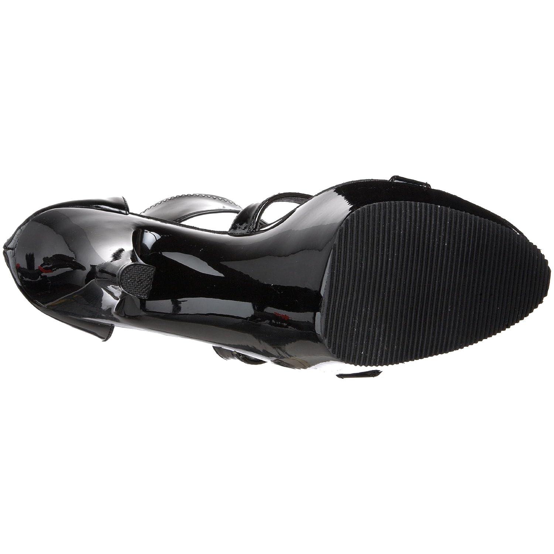 Pleaser Women's Kiss-249 Platform Sandal B000AMC6BE Patent 13 B(M) US|Black Stretch Patent B000AMC6BE 006e7b