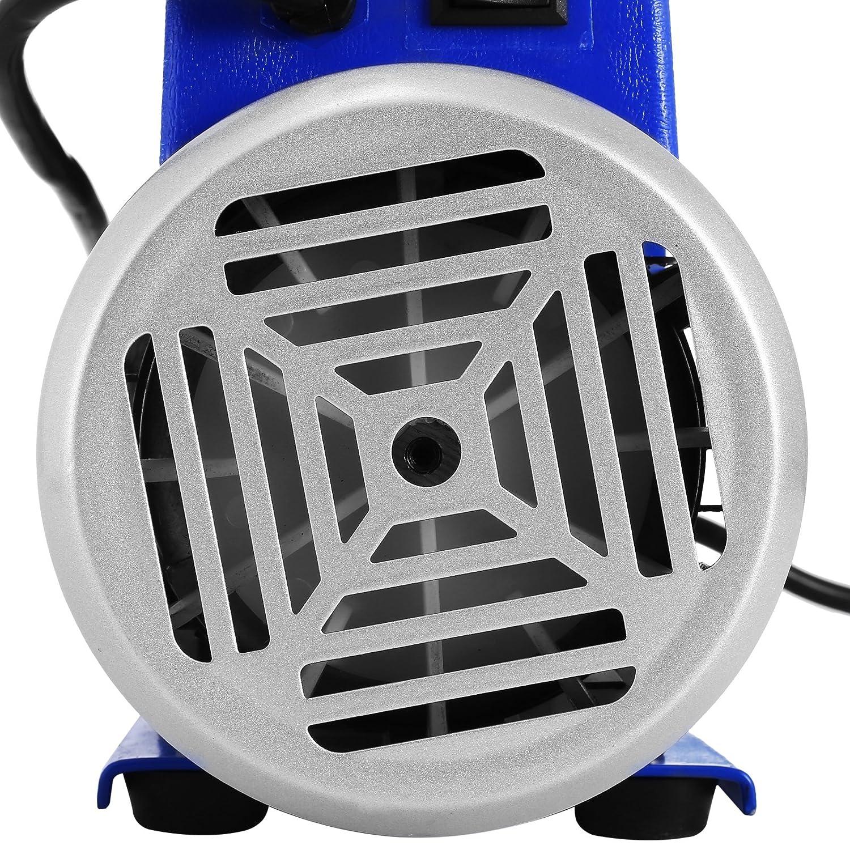1.8 CFM 1//4HP 4HP Kit pompa per vuoto refrigerante HVAC Pompa per vuoto monostadio con manifold Manometri Aria condizionata 50 l//min 1440 RPM per tutti i refrigeranti HODOY 1.8CFM 1