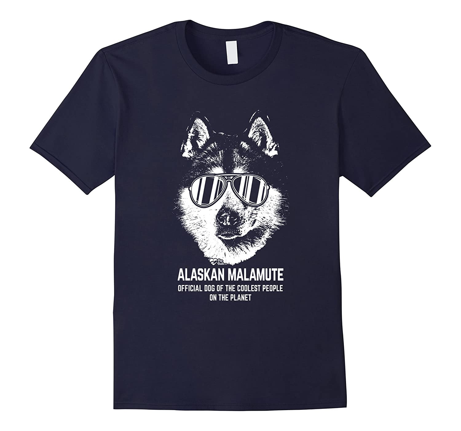 Alaskan Malamute Shirt Official Dog of the Coolest People-Art