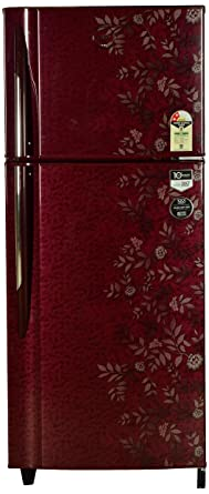 Godrej 240 L 2 Star Frost Free Double Door Refrigerator(RT EON 240 P 2.4, Lush wine)