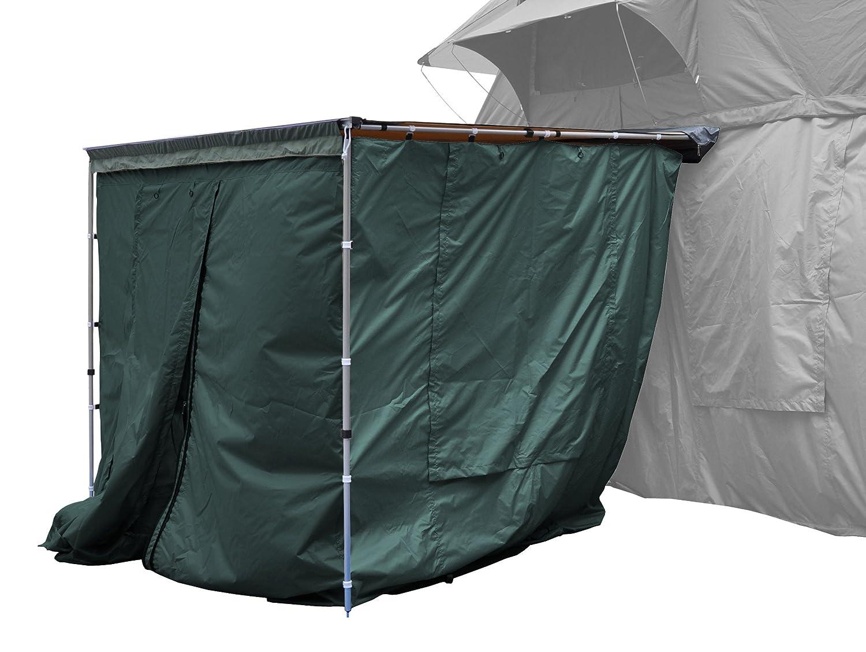 Seitenwände zur Dachzelt-Markise grün 250x200x210cm Prime Tech