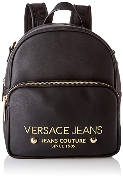 4fd3a9ba18 Versace Jeans Bag Borsa a zainetto Donna, (Nero), 11x23x25,5 cm (W x ...
