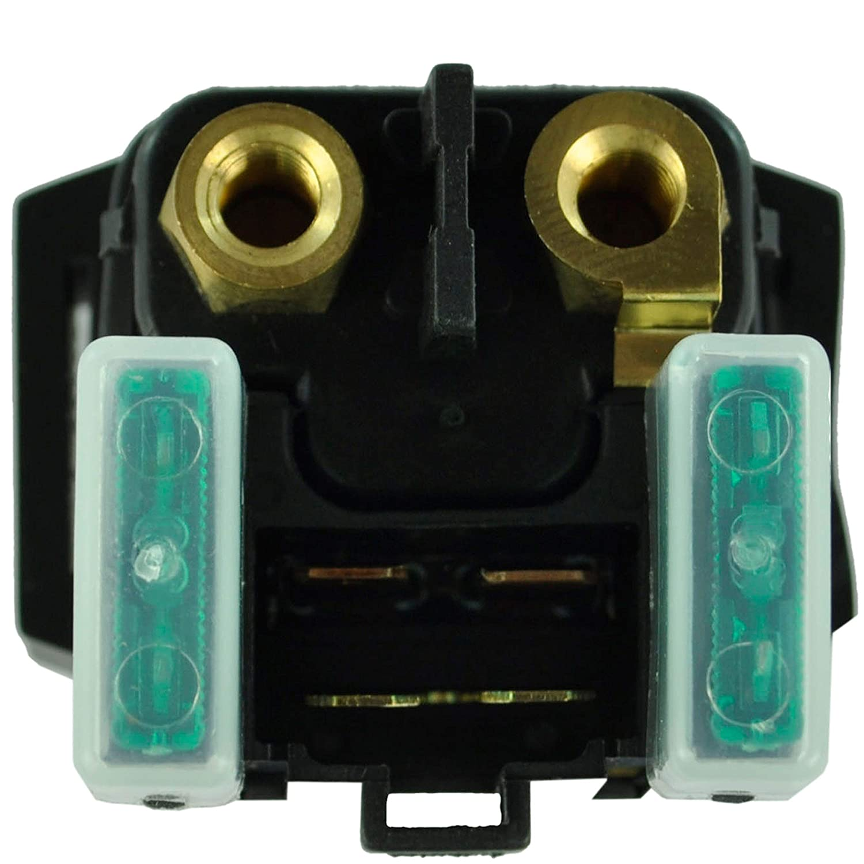 Starter Relay Solenoid Switch for Kawasaki Ninja 300/400 / 650 | Versys-X 300 / Versys 650 | ER-6N | Z 400 2009-2019 | OEM Repl.# 27010-0099 | KLE300 / KLE650 / EX400 / ER400 / EX300 / EX400