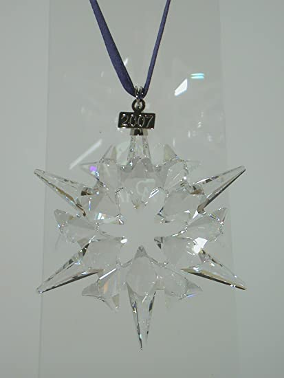 Swarovski 2007 Annual Edition Large Christmas Star Ornament - Amazon.com: Swarovski 2007 Annual Edition Large Christmas Star