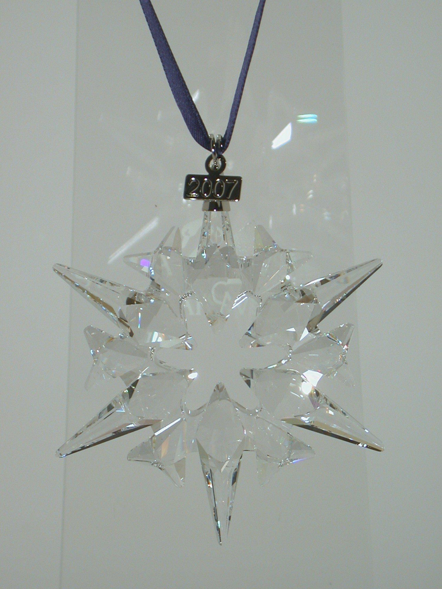Swarovski 2007 Annual Edition Large Christmas Star Ornament