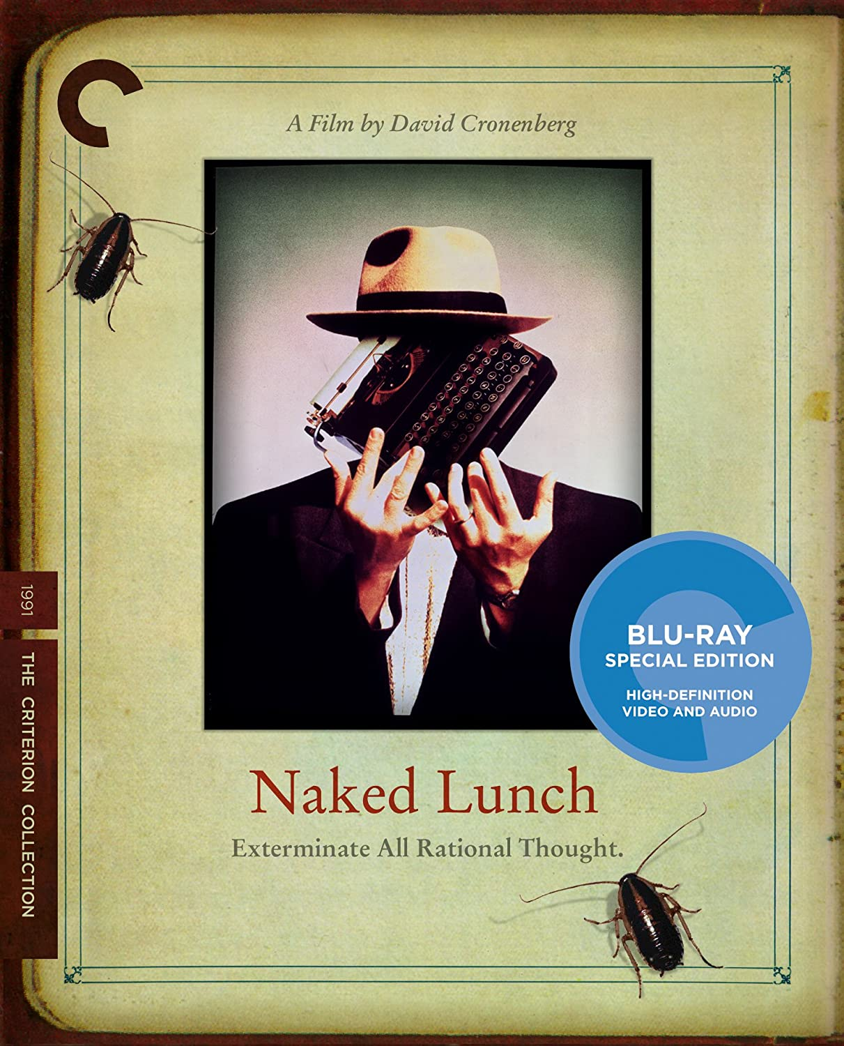 Amazon Com Naked Lunch Criterion Collection Blu Ray Peter