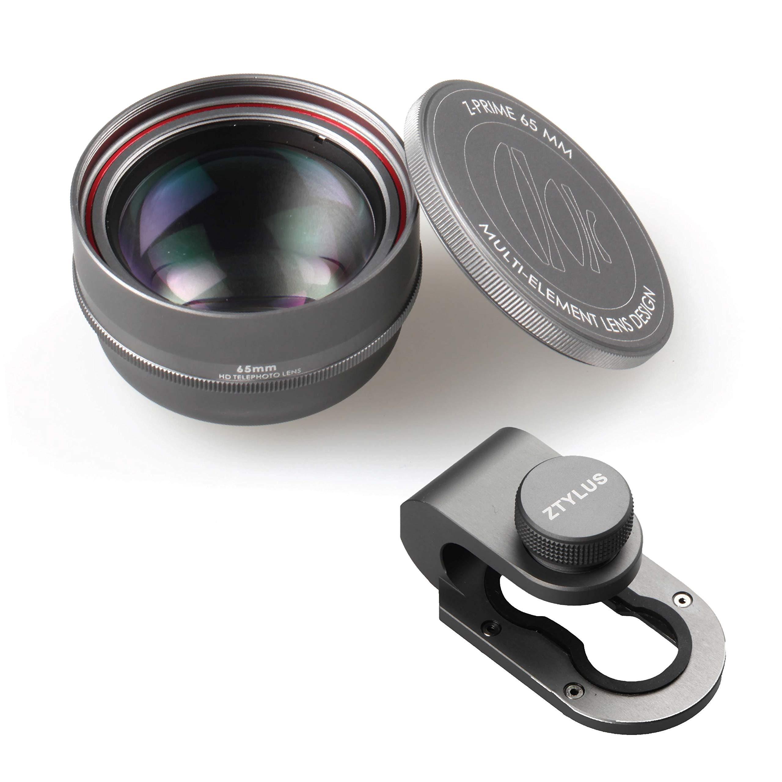 Lente telefoto Z-PRIME 65mm + Adaptador  para iPhone 7/8...