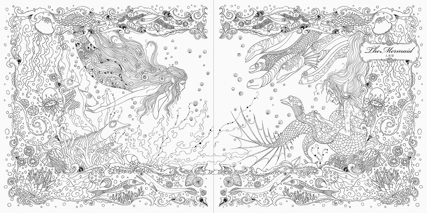 Princesses and Fairies Colouring Book (Japanese Edition): Tomoko ...