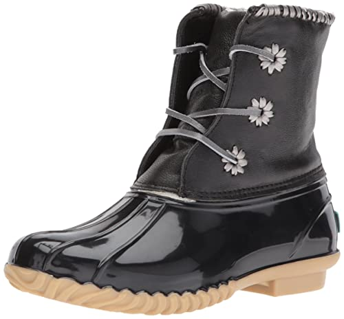 fd60b536cac Jack Rogers Women's Chloe Metallic Rain Boot