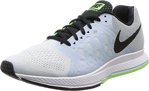 Nike Air Zoom Pegasus 31, Scarpe Running Uomo, Grigio (Black