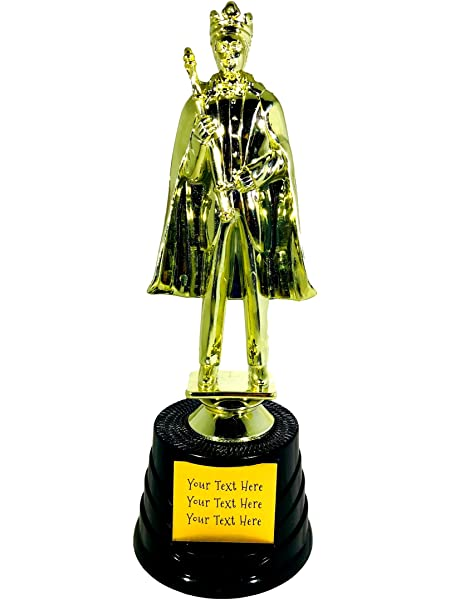 Chess King Trophy Crunch Free Plate Engraving Customized Chess Trophies