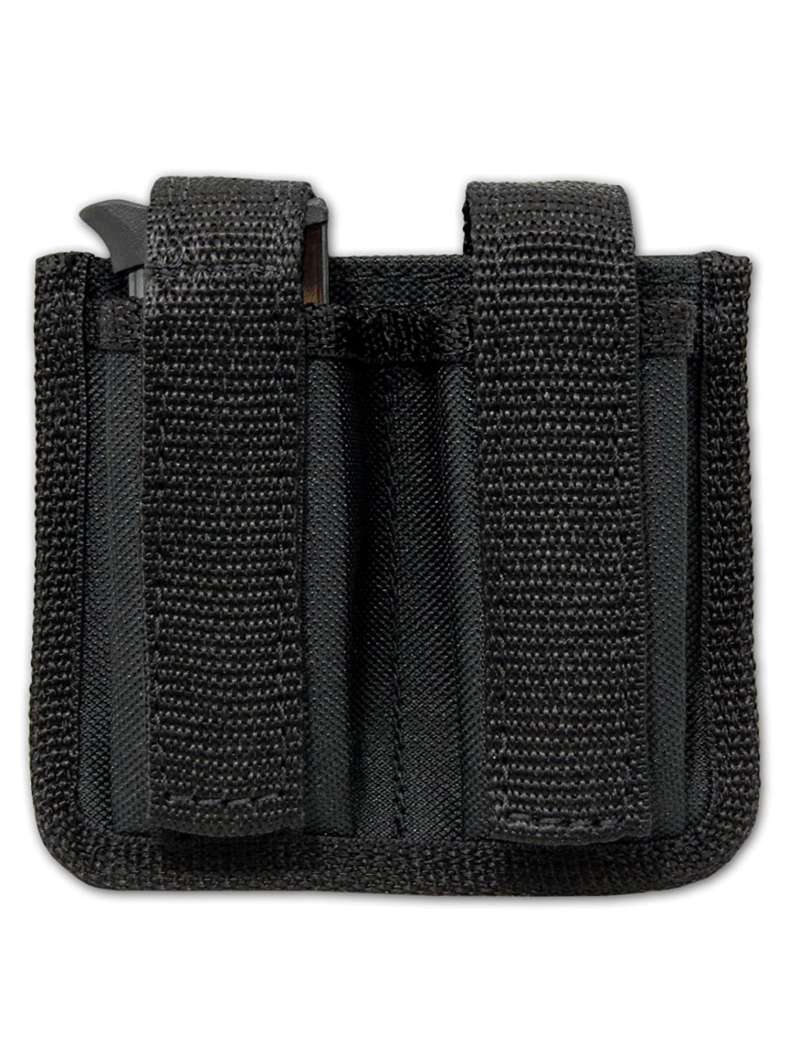 New Barsony Double Magazine Pouch for .380, Ultra-Compact 9mm 40 45