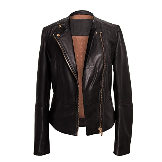 9a121023a Zerimar Leather Jacket for Women | Real Leather Jackets for Women ...