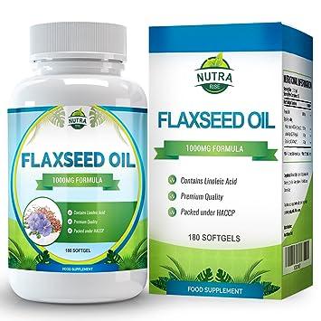 pastillas de aceite de linaza para adelgazar