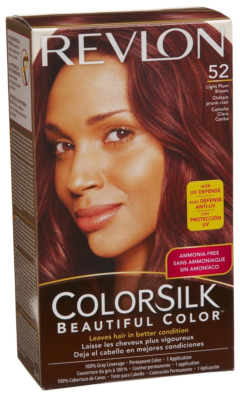 Amazon Revlon Colorsilk Haircolor Light Plum Brown 10 Ounces