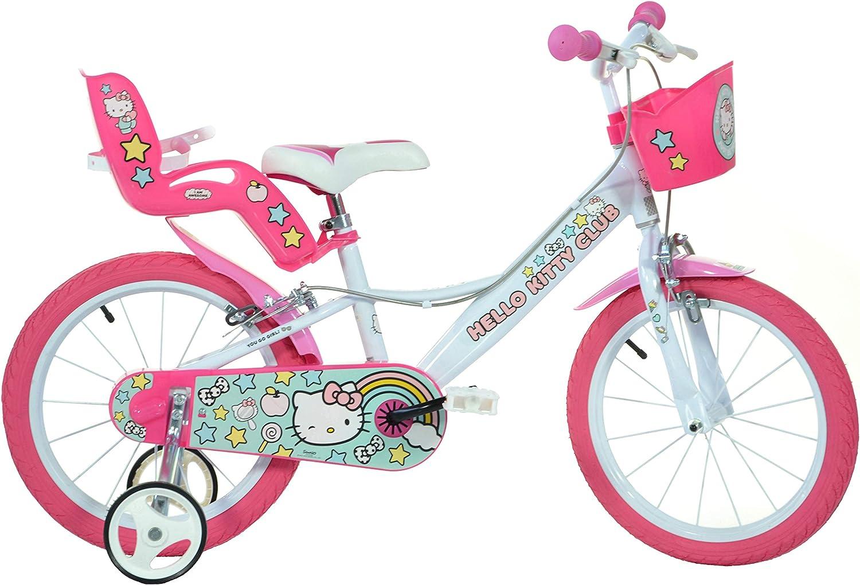 Bicicletta Hello Kitty 16pollici: Amazon.es: Juguetes y juegos