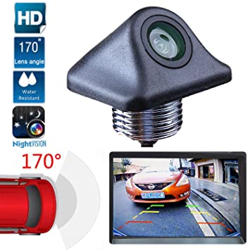 Waterproof Car Rear View Reverse Backup Parking Camera Night Vision 170° Cmos Consumer Electronics Car Video