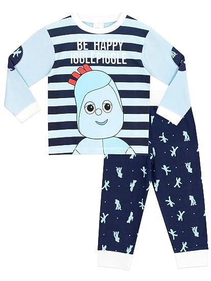 In The Night Garden - Pijama para Niños - Igglepiggle - 3 a 4 Años