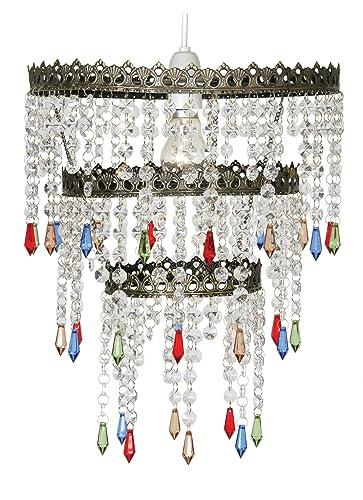 Oaks Lighting Ekon - Lámpara de techo (estructura de latón ...