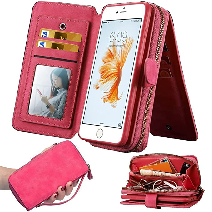Giveaway iphone 7 plus case with card holder red