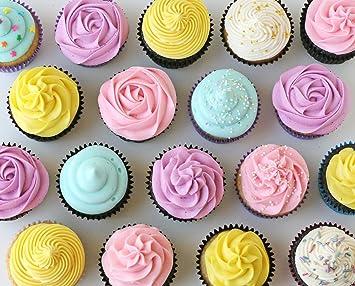 jjmg ruso Tulip puntas acero inoxidable Icing Piping Boquillas Consejos para decorar repostería para tartas Cupcake decorar dispensador de glaseado (3): ...