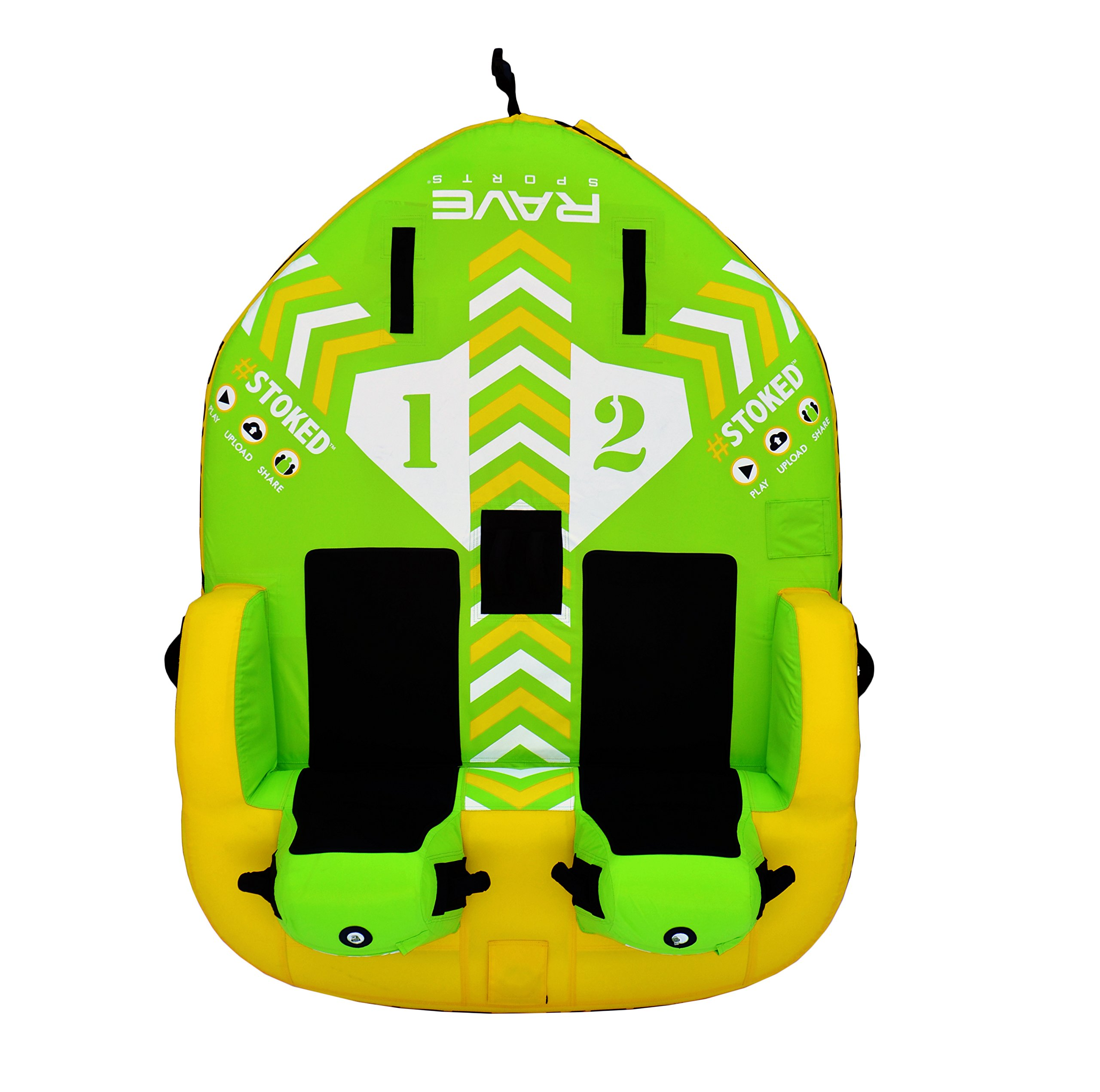 RAVE Sports 02644 #STOKED 2-Rider Towable by RAVE Sports