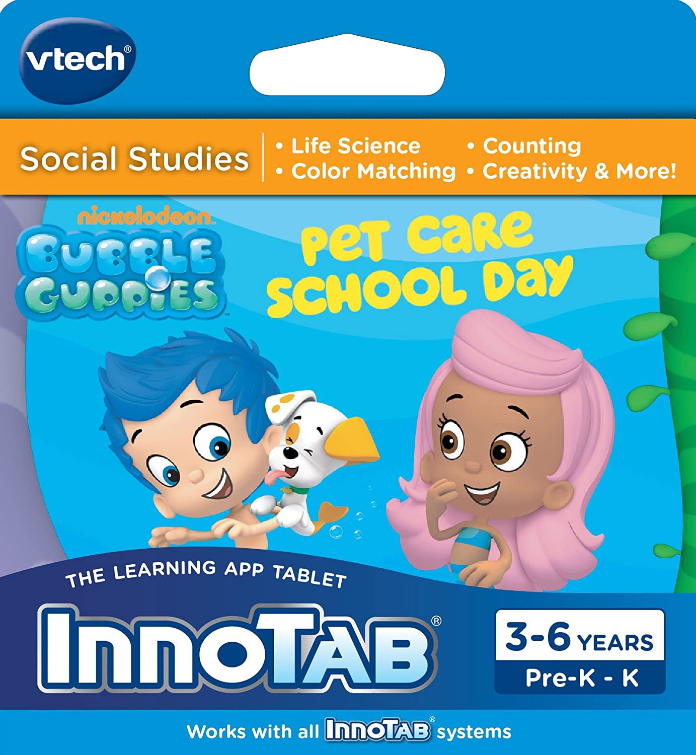 amazon com vtech innotab software bubble guppies toys u0026 games