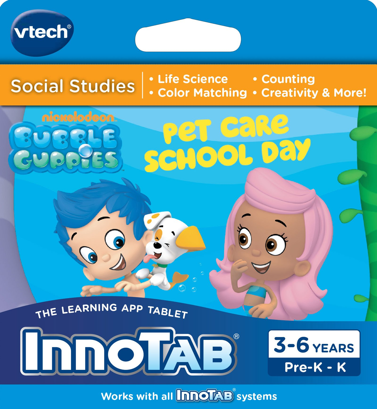 VTech InnoTab Software, Bubble Guppies by VTech (Image #1)