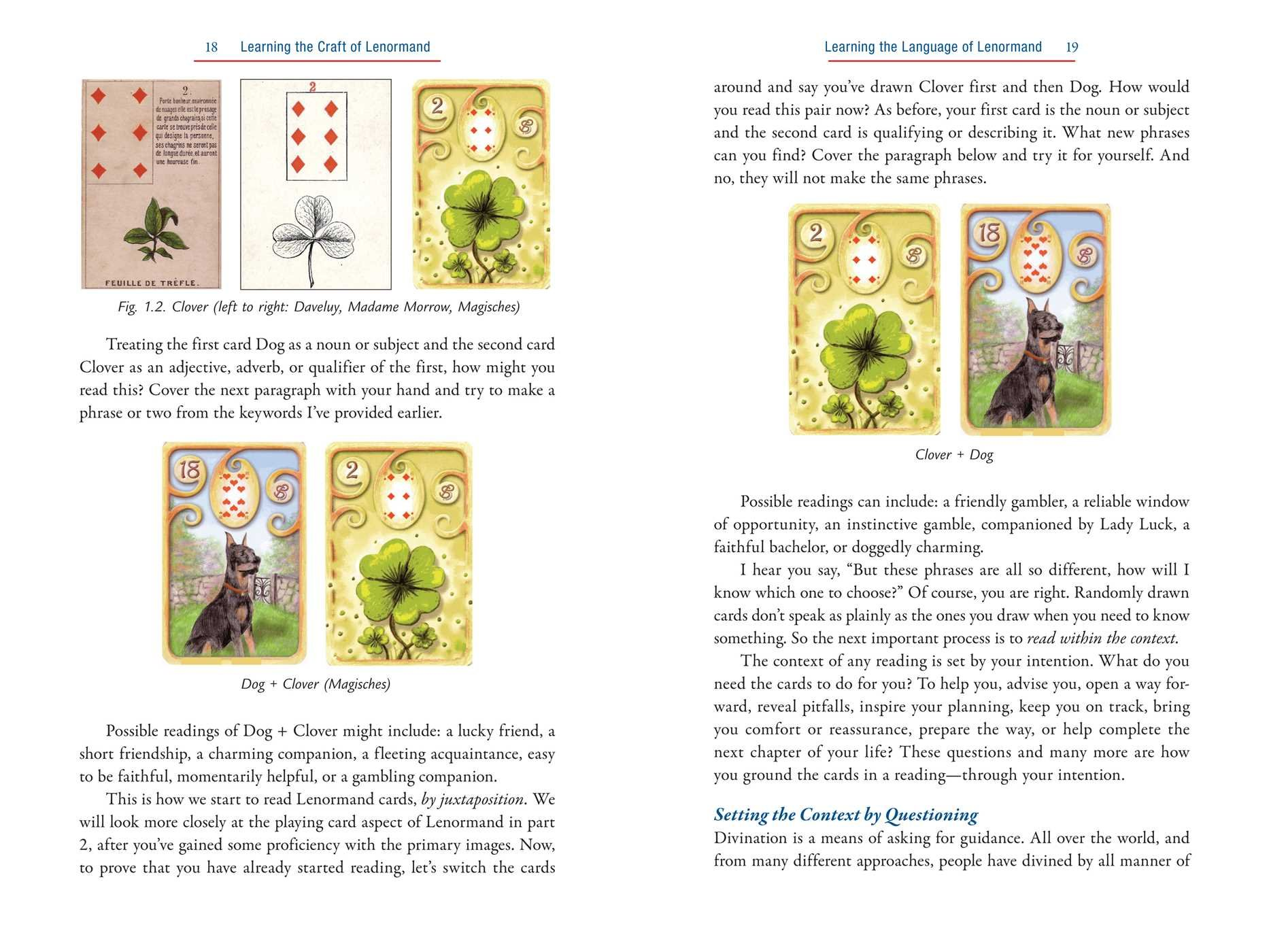 The Complete Lenormand Oracle Handbook Reading The Language And