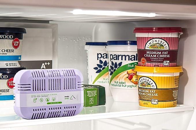 Ryher Absorbe y Elimina olores del frigorífico – Ambientador y ...