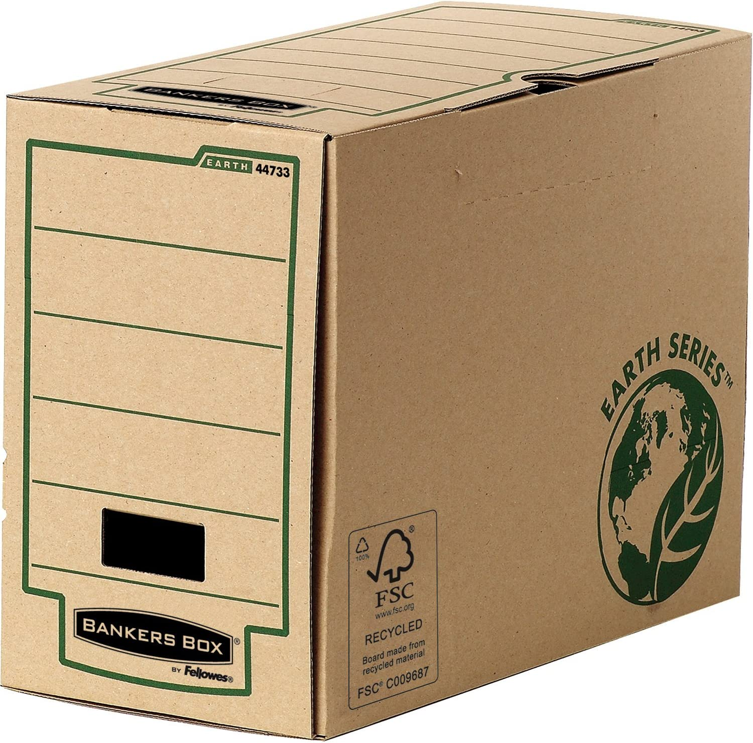 Bankers Box 4473302 Earth Series Scatola Archivio A4+