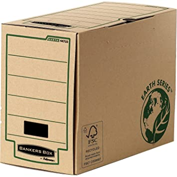 Fellowes Earth Series - Lote de 20 cajas de archivo A4, color Dos de 20 cm: Amazon.es: Oficina y papelería