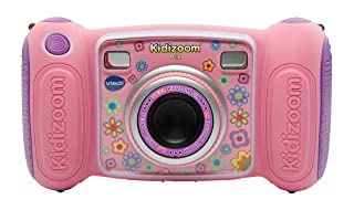 VTech 80-193655 Digital camera - kids' electronics (Digital camera, MicroSD (TransFlash), Buttons, Pink, AA)