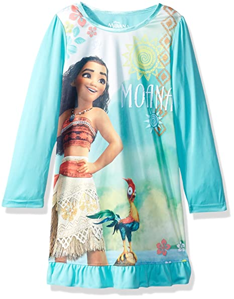 dcc8b017f0c4 Amazon.com  Disney Girls  Moana Nightgown  Clothing