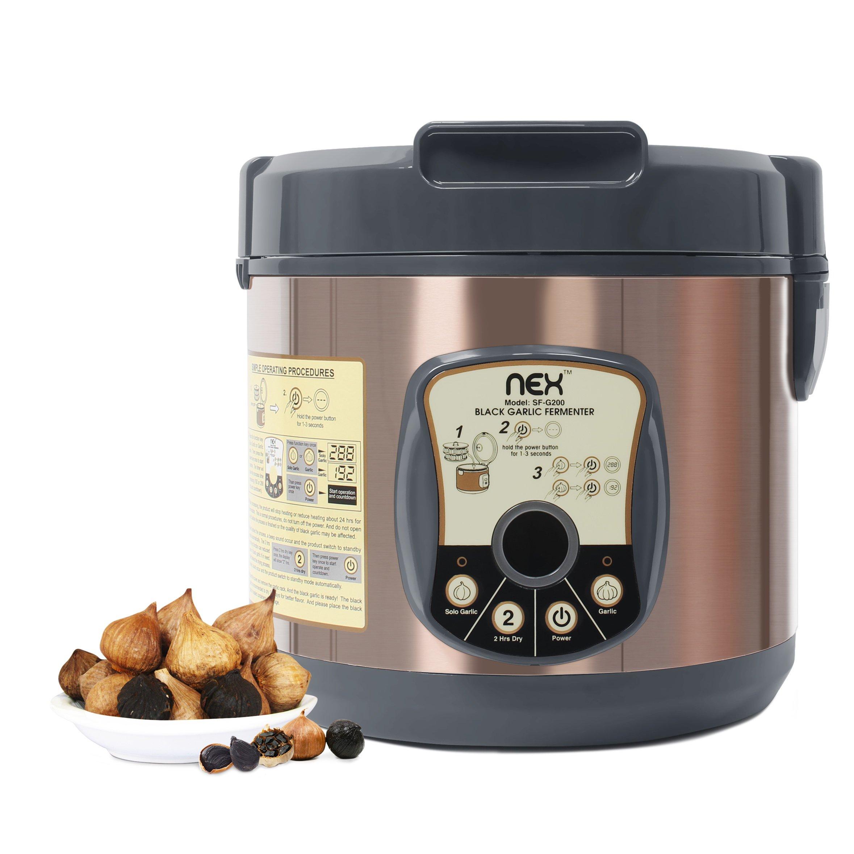 NEX NE-KF20B Black Garlic Fermenter Bronze 5L by NEX