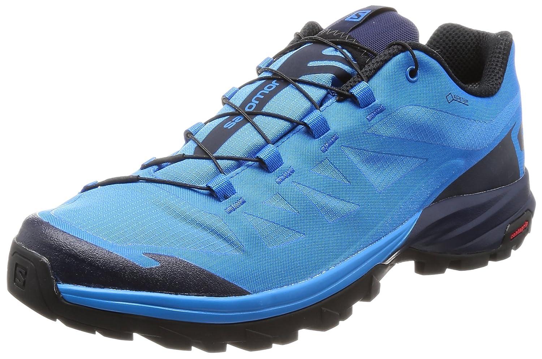 Salomon Outpath GTX, Zapatillas de Senderismo para Hombre 43 1/3 EU|Azul (Indigo Bunting/Navy Blazer/Black)