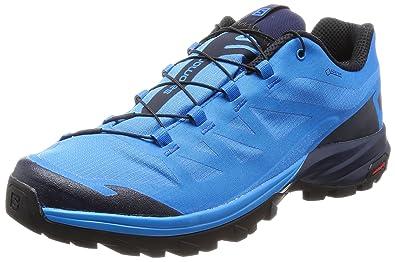 Salomon Herren Outpath GTX Trekking-& Wanderhalbschuhe, Blau (Indigo Bunting/Navy Blazer/Black 645), 44 EU