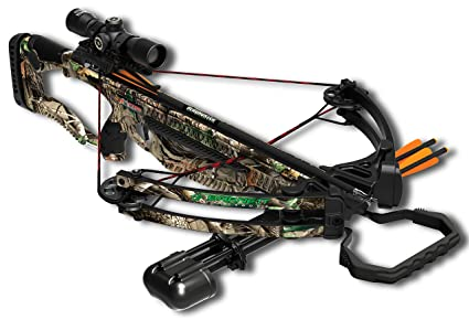 Barnett Outdoors Raptor FX Crossbow Package, Camo