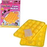 Fun Cake Pops Maker - stampo in silicone per dolcetti tondi lollipops