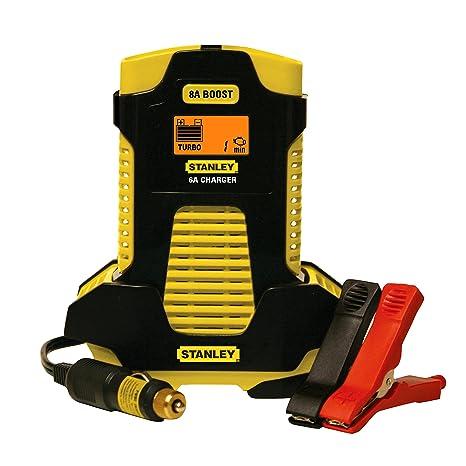 Stanley bc6809 6/8 Amp Cargador de batería automático ...