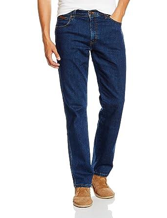 Mens Regular Fit Str Rinsewash Jeans Wrangler Discounts Sale Online Discount Excellent Hv1oSRg7Zb