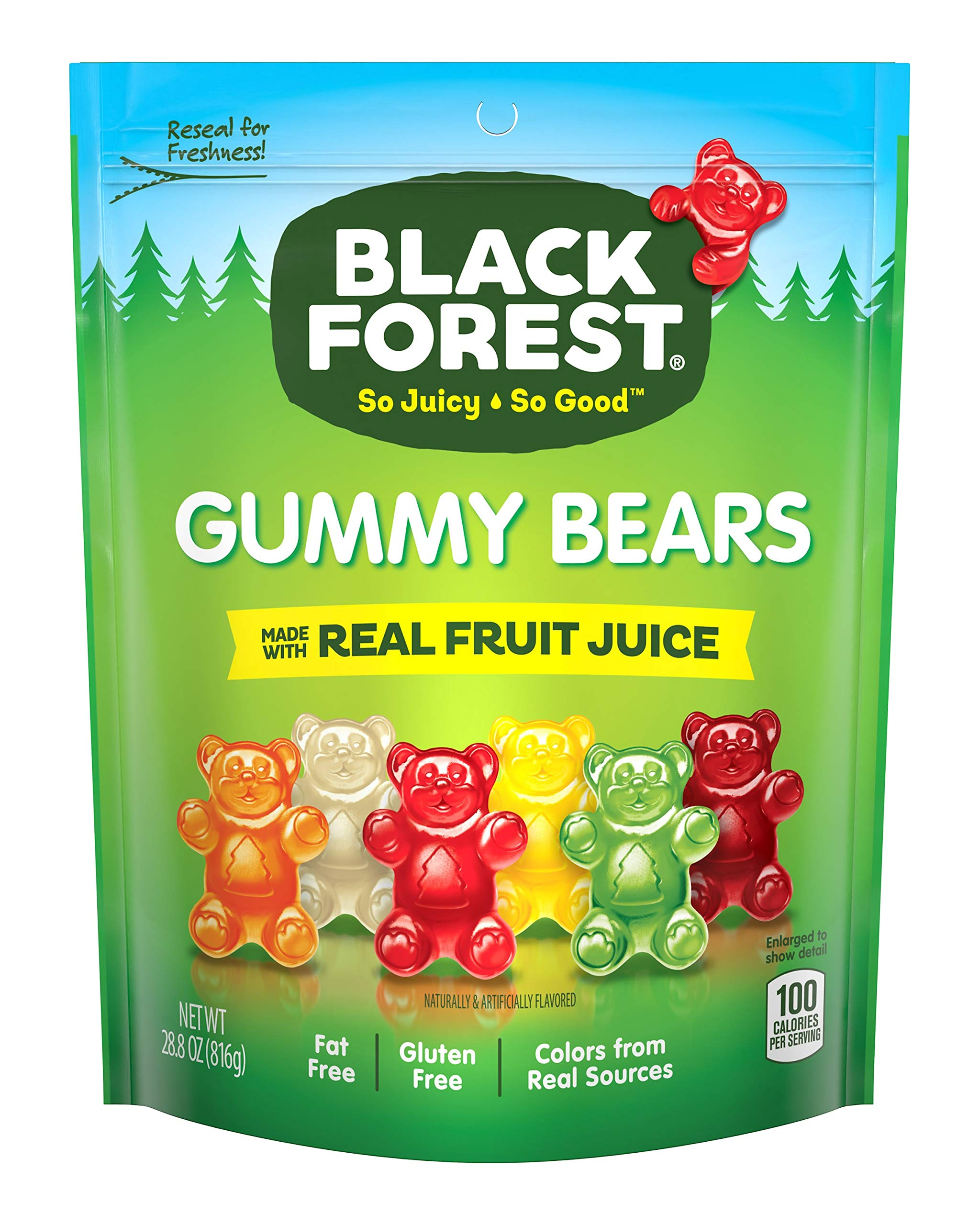 Black Forest Gummy Bears Candy, 28.8 Ounce (Pack of 1) by Black Forest